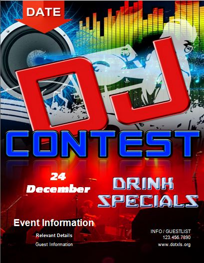 DJ Contest Flyer