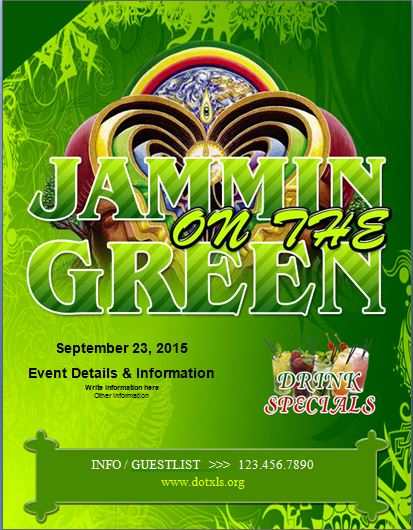 Jammin on The Green Flyer