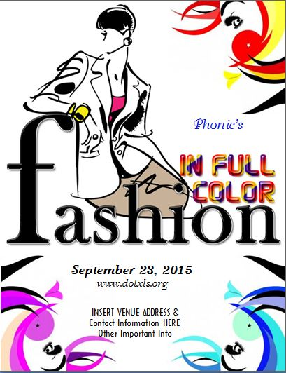 Fashion in Full Color Flyer