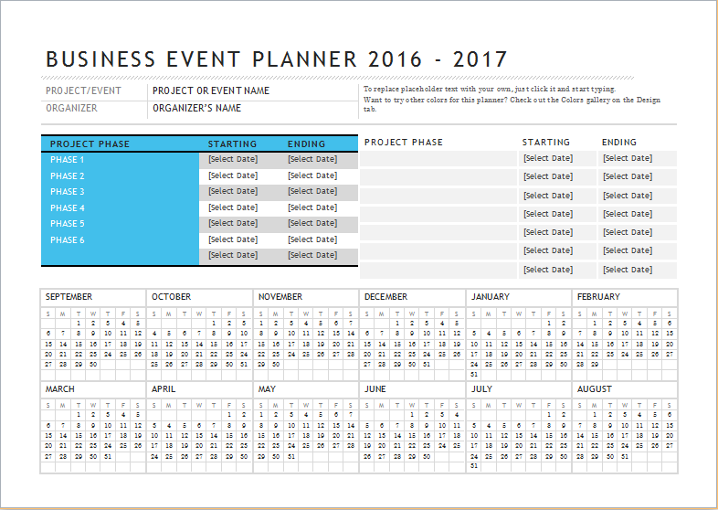 business event planner