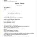 Medical Report Layout Template