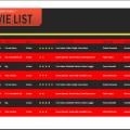 Movie List Template
