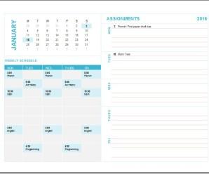 Homework Assignment Planner