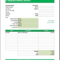 Wedding Services Invoice