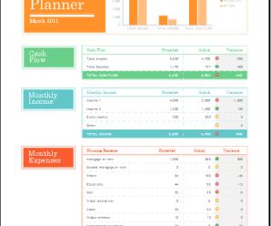 Family Budget Sheets